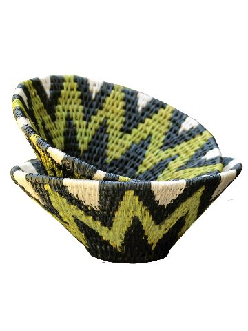 fairtrade bowls and baskets