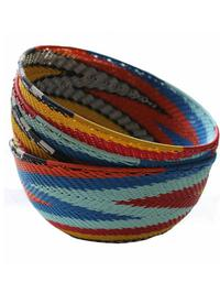 Telephone Wire Baskets