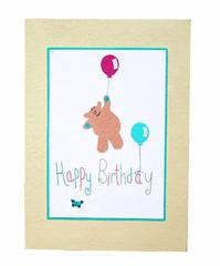 Fairtrade and ecofriendly childrens birthday cards