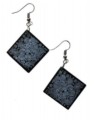Aboriginals Design Earrings