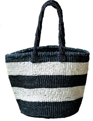 Natural woven tote bags