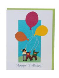 Ecofriendly Handmade Childrens Birthday Cards
