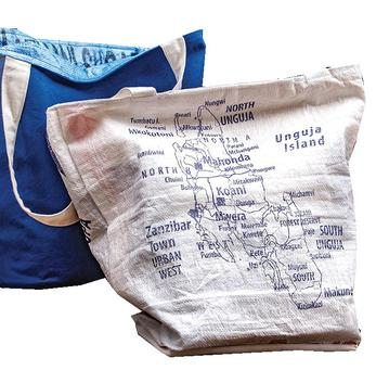 bags made from recycled sails
