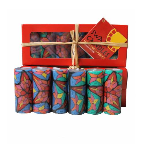 Fair-Trade Christmas Candles
