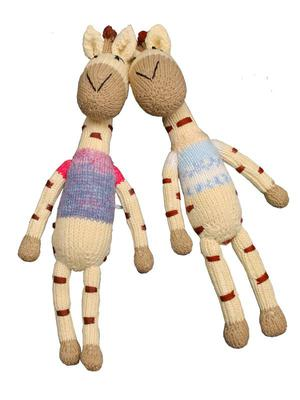 Giraffe soft toy