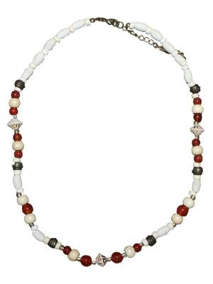 Fair-trade Jasper Necklace