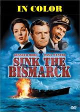 Sink The Bismarck in Color DVD.