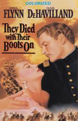 They Died With Their Boots On (in Color) DVD
