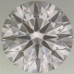diamond clarity:  the most popular type of includusion is the feather inclusion