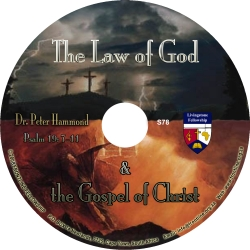 The Law of God and the Gospel of Christ
