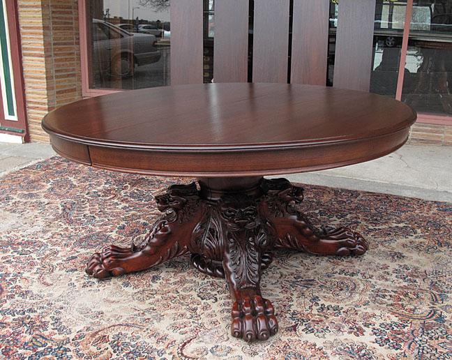 hastings co 60 ribbon stripe mahogany dining table rh bradfordsantiques com