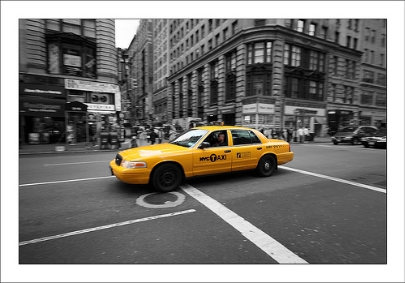 Lost Property NYC yellow Taxi cab