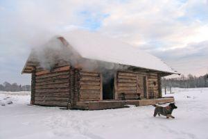 Traditional Baltic Bathhouse