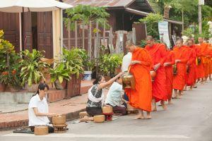The social etiquette in Laos