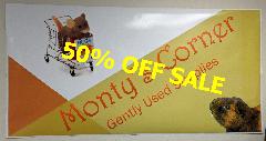 50% off at Monty's Corner
