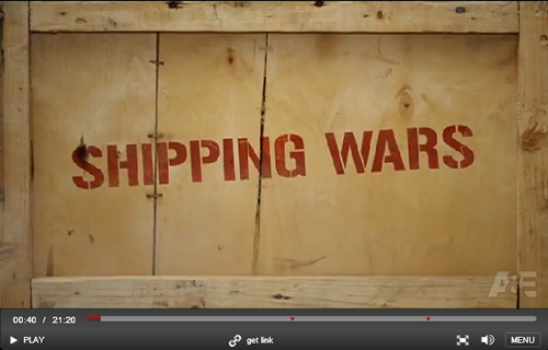 A&E Shipping Wars - pilot episode