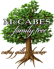 The McCabes Family Tree from the books by Cathy Gillen Thacker