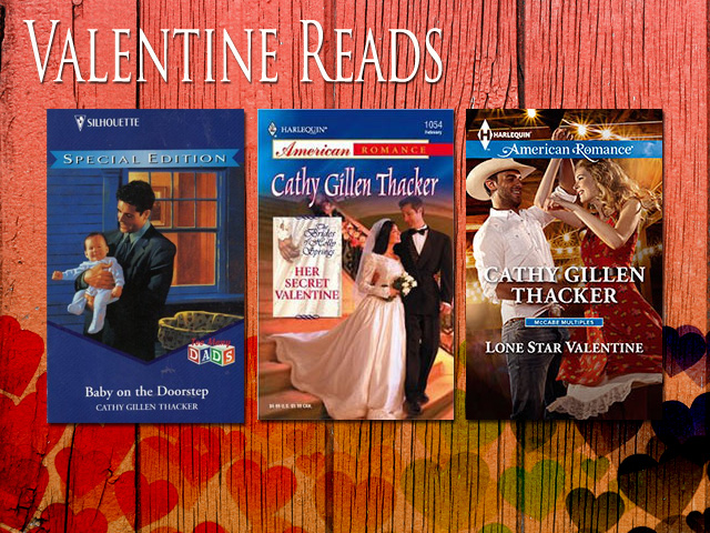 Valentine Books to read by Cathy Gillen Thacker