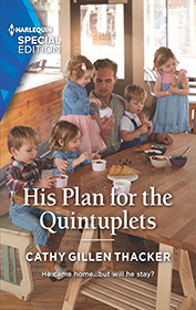 His Plan for the Quintuplets by Cathy Gillen Thacker