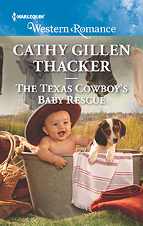The Texas Cowboy's Baby Rescue by Cathy Gillen Thacker