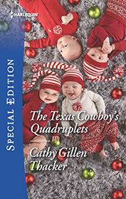 THE TEXAS COWBOY'S QUADRUPLETS by Cathy Gillen Thacker