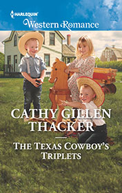 The Texas Cowboy's Triplets by Cathy Gillen Thacker