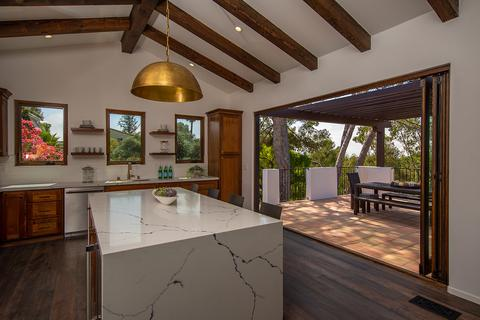 Folding Doors Create Indoor Outdoor Kitchens