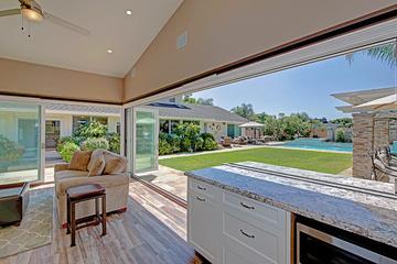 Folding Doors Create Indoor-Outdoor Kitchens