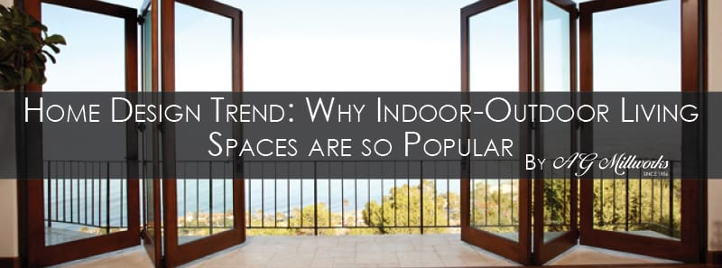 You Are Probably Familiar With The Latest Home Design Trend Of Creating Indoor Outdoor Living Es Using Large Folding Or Sliding Door Systems