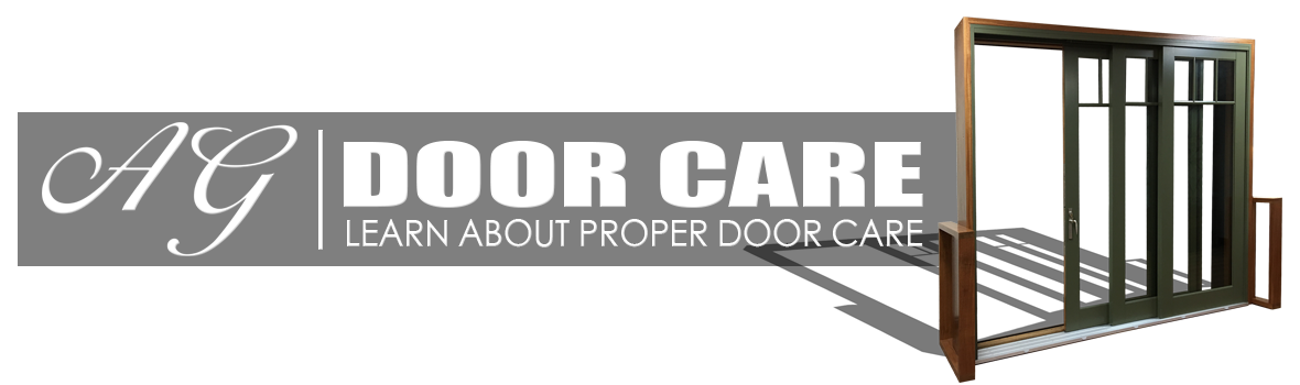 DOOR CARE INSTRUCTIONS