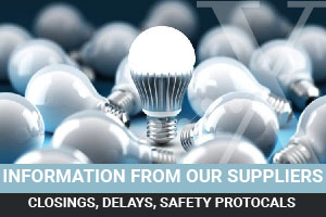List of electrical and lighting manufacturers with factory shutdowns