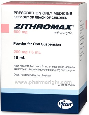 Azithromycin Zithromax