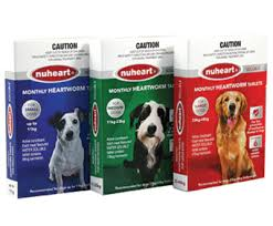 Nuheart Generic Heartgard for Dogs