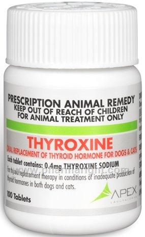 Pet Meds No Prescription Required Thyroxine Sodium