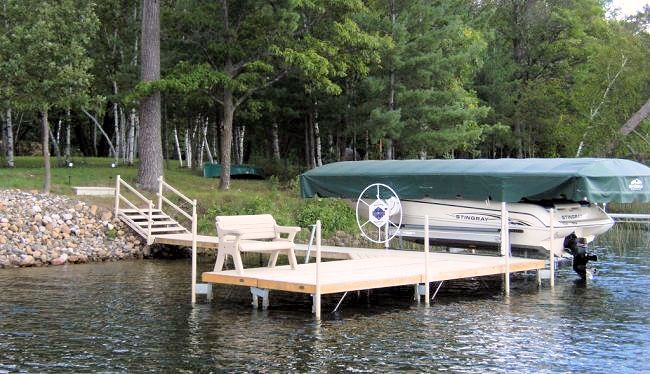 boat dock inspection