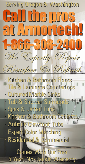 Free Estimates Sink, Vanity, and Countertop Refinishing Contractor Portland Vancouver