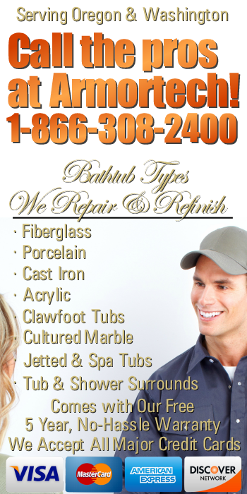 Bathtub Chip & Scratch Repair Contractor Portland Vancouver