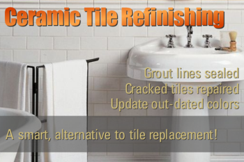 Ceramic Tile Refinishing & Reglazing Contractor Portland Vancouver
