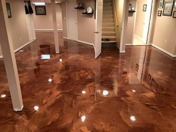 Basement Residential Epoxy Flooring Contractor Portland Vancouver