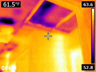 BGE energy audit thermography