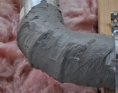 seal ducts to save energy at home