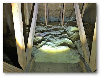 Attic insulation and air sealing Elkridge MD