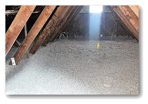 Well insulated attic Maryland