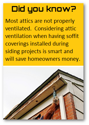 Soffit ventilation solutions in Maryland