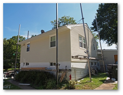 Vinyl siding replacement Howard County, MD
