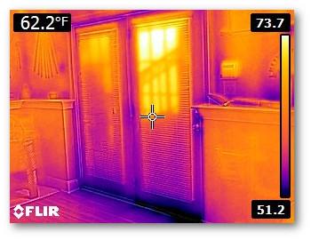 Thermal imaging for door performance