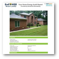 BGE home energy audit
