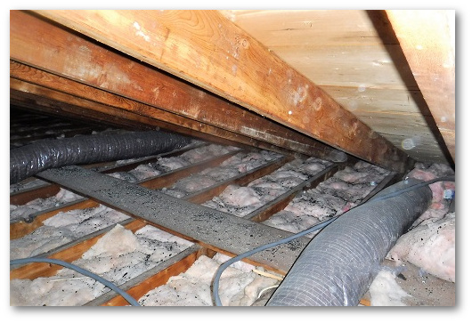 Low insulation is cause for an energy audit