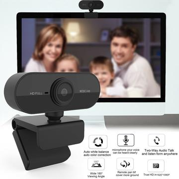 Webcam With Microphone Real Full HD 1080P Streaming Camera For PC MAC Laptops US Highest Quality Made! Super free Fast Shipping! US Stock!!US $16.45