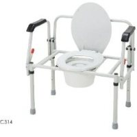 Merits Bariatric 3-In-1 Steel commode